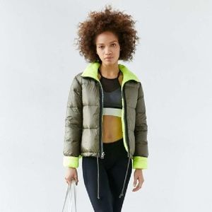 Urban Outfitters A-Line Reversible Down Jacket